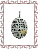 DS 1-A I Love My Breed Oval 4-A