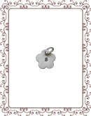 bitty 2-A:  bitty silver flower