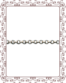 rolo chain 1:  1.8mm sterling silver rolo link chain