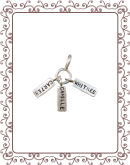 cluster tag 1-A:  silver tag cluster charm