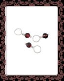 droplet 10-A:  garnet gemstone droplet