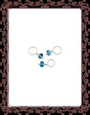 droplet 14-A:  apatite gemstone droplet