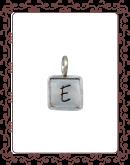 """square 2-B:  1/2"""" silver square with silver rim"""