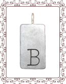tag 3-A: large silver simple tag